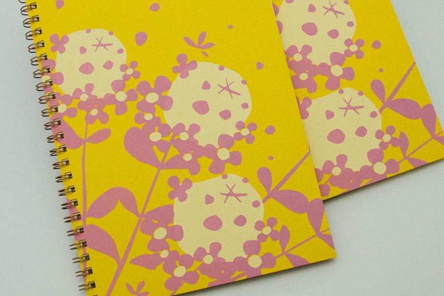 こだわりのリングノート。オリジナルノート。太陽の時間として、タイムをデザイン。